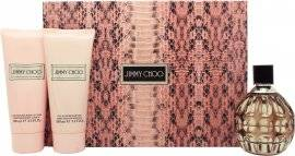 Jimmy Choo Jimmy Choo Gift Set 100ml EDP + 100ml Body Lotion + 100ml Shower Gel