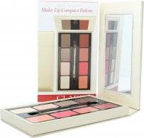 Clarins Make-Up Compact Palette 4 x Eyeshadow + 4 x Lipstick + 1 Applicator