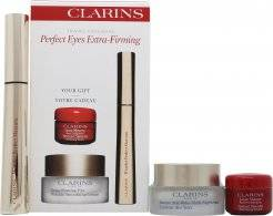 Clarins Perfect Eyes Extra Firming Gift Set 15ml Extra Firming Eye Wrinkle Smoothing Cream + 7ml Wonder Perfect Mascara + 4ml Instant Smooth Perfecting Touch