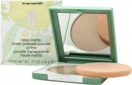 Clinique Stay-Matte Sheer Pressed Puuteri 7.6g - Stay Neutral