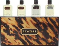 Aramis Miniature Gift Set 7ml Aramis EDT + 7ml Aramis Aftershave + 7ml Black EDT + 7ml Voyager EDT
