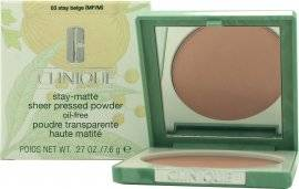 Clinique Stay-Matte Sheer Pressed Puuteri 7.6g - Stay Beige