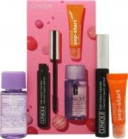 Clinique Gift Set 30ml Take The Day Off Cleanser + 7ml High Impact Mascara in Black + 7ml Pep Start Eye Cream