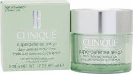 Clinique Superdefense SPF20 Daily Defense Moisturizer 50ml - Very Dry to Dry Combination