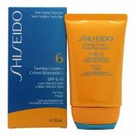 Shiseido Tanning Cream 50ml SPF6 Low Protection for Face