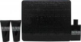 Zadig & Voltaire This is Him! Be Rock! Gift Set 50ml EDT + 2 x 50ml Shower Gel