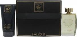Lalique Pour Homme Lion Gift Set 125ml EDP + 150ml Shower Gel