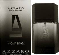 Azzaro Night Time Pour Homme Eau de Toilette 50ml Spray