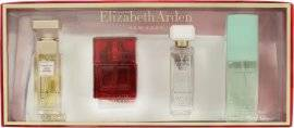 Elizabeth Arden Corporate Holiday Fragrance Gift Set 10ml 5th Avenue EDP Spray + 10ml Red Door EDT Spray + 7.5ml White Tea EDT + 15ml Green Tea Scent Spray