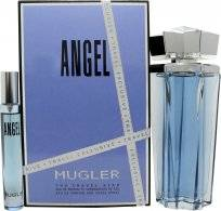 Thierry Mugler Angel Gift Set 100ml EDP Refillable + 7.5ml EDP