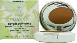 Image of Clinique Beyond Perfecting Powder Foundation + Concealer 14g - Honey