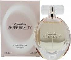 Calvin Klein Sheer Beauty Eau de Toilette 50ml Suihke