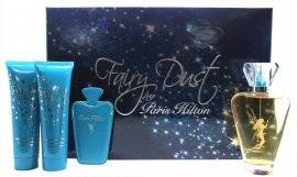 Paris Hilton Fairy Dust Gift Set - 100ml EDP Spray + 90ml Shower Gel + 90ml Body Lotion + Mirror and case