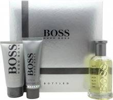 Boss Hugo Boss Boss Bottled Gift Set 100ml EDT + 50ml Shower Gel + 75ml Aftershave Balm