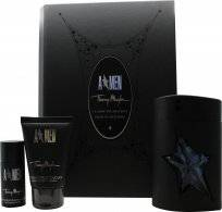 Thierry Mugler A*Men Gift Set 100ml EDT + 50ml Hair & Body Shampoo + 20ml Deodorant Stick