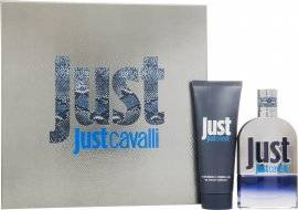 Roberto Cavalli Just Cavalli Him Gift Set 50ml EDT + 75ml Shower Gel