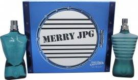 Jean Paul Gaultier Le Male Merry JPG Gift Set 125ml EDT + 125ml Aftershave Lotion