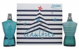 Jean Paul Gaultier Le Male Gift Set 125ml EDT + 125ml Aftershave Spray