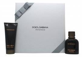 Dolce & Gabbana Pour Homme Intenso Gift Set 75ml EDP + 100ml Aftershave Balm