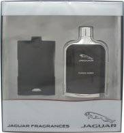 Jaguar Classic Amber Gift Set 100ml EDT + Luggage Tag