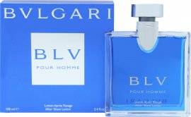 Bvlgari BLV Pour Homme Aftershave Lotion 100ml Splash