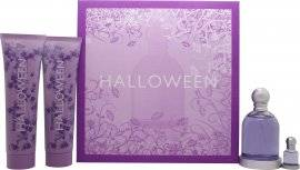 Jesus del Pozo Halloween Gift Set 100ml EDT + 150ml Body Lotion + 150ml Shower Gel + 4.5ml EDT