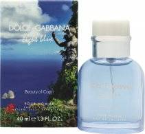 Dolce & Gabbana Light Blue Pour Homme Beauty of Capri Eau de Toilette 40ml Spray