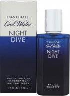 Davidoff Cool Water Night Dive Eau de Toilette 50ml Suihke