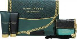 Marc Jacobs Decadence Gift Set 100ml EDP + 75ml Body Lotion + 75ml Shower Gel