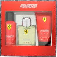 Acer Ferrari Scuderia Ferrari Red Gift Set 125ml EDT + 150ml Deodorant Spray + 150ml Hair & Body Wash