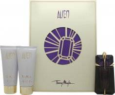 Thierry Mugler Alien Gift Set 60ml Eau de Parfum + 100ml Body Lotion + 100ml Shower Gel