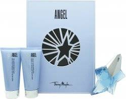 Thierry Mugler Angel Book Of Mysteries Gift Set 50ml EDP + 100ml Body Lotion + 100ml Shower Gel