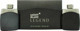 Mont Blanc Legend Gift Set 100ml EDT + 100ml Aftershave Splash