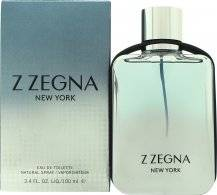 Ermenegildo Zegna Z Zegna New York Eau de Toilette 100ml Spray