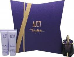Thierry Mugler Alien Gift Set 30ml EDP + 50ml Body Lotion + 50ml Shower Gel