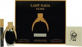 Lady Gaga Fame Gift Set 50ml EDP + 10ml Roller Ball + Tattoo