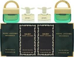 Marc Jacobs Mini Perfumes Gift Set 2 x 4ml Decadence EDP + 2 x 4ml Daisy EDT Spray