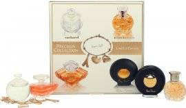 Lancôme Lancome Precious Collection Miniatures Gift Set 7ml Cacharel Noa + 7.5ml Lancome Tresor + 4ml Ralph Lauren Safari + 4.8ml Paloma Picasso + Charm Bracelet