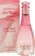 Davidoff Cool Water Woman Sea Rose Pacific Summer Edition Eau de Toilette 100ml Spray