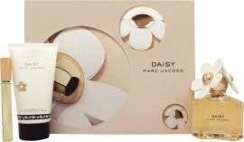 Marc Jacobs Daisy Gift Set 100ml EDT + 150ml Body Lotion + 10ml Rollerball