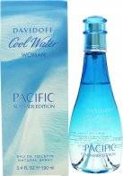 Davidoff Cool Water Pure Pacific for Her Eau de Toilette 100ml Spray - Limited Edition