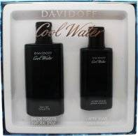 Davidoff Cool Water Gift Set 125ml EDT + 75ml Aftershave Lotion