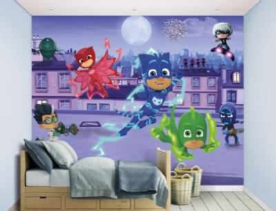 Walltastic Pyjamasankarit tapetti, PJ Masks