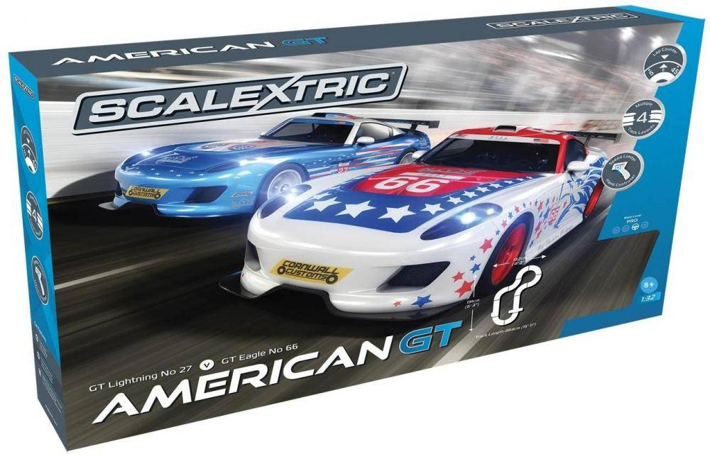 Scalextric American GT - Scalexreic kilparata C1361