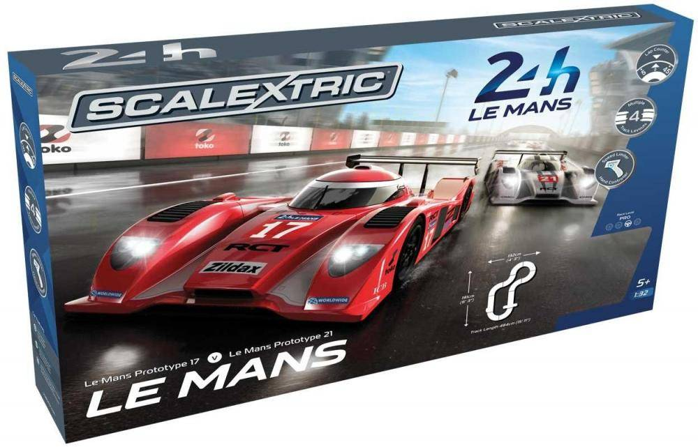 Scalextric Le Mans Prototypes Sports Cars - Scalextric Kilparata C1368
