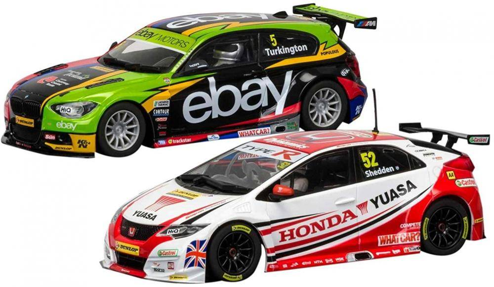 Scalextric British Touring Car Champions 2014 & 2015 - Scalextric auto C3694A