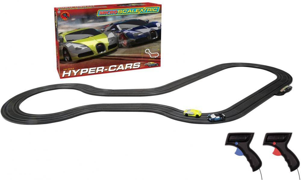 Scalextric Micro Scalextric Hyper Cars - Scalextric kilparata G1108