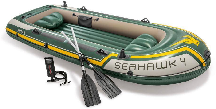Intex Kumivene Seahawk 4, mukana airot, Intex Pool - Intex Seahawk 4 68351