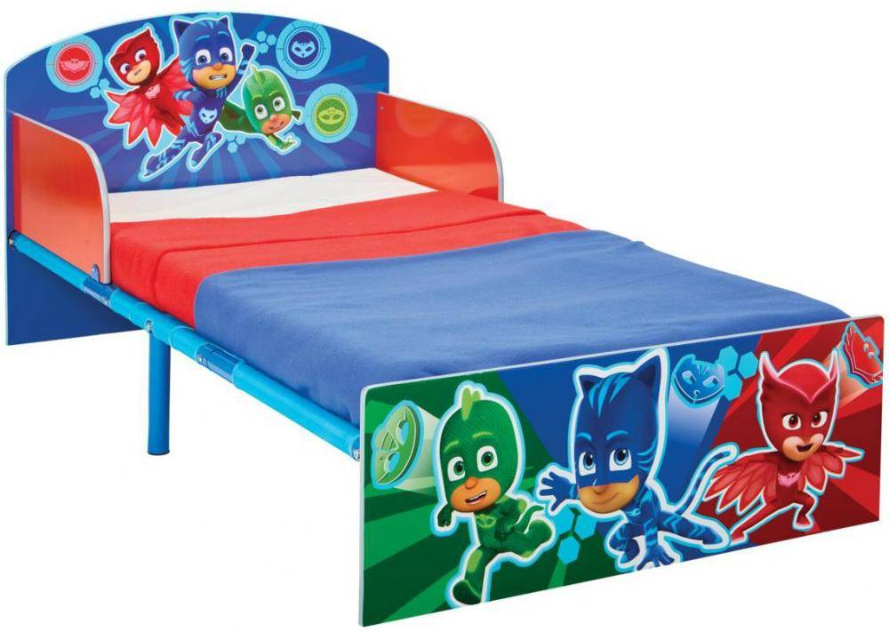 Worlds Apart PJ Masks junior sänky patjalla - Pyjamasankarit lastenkalusteet 665572