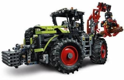 CLAAS XERION 5000 TRAC VC, Lego